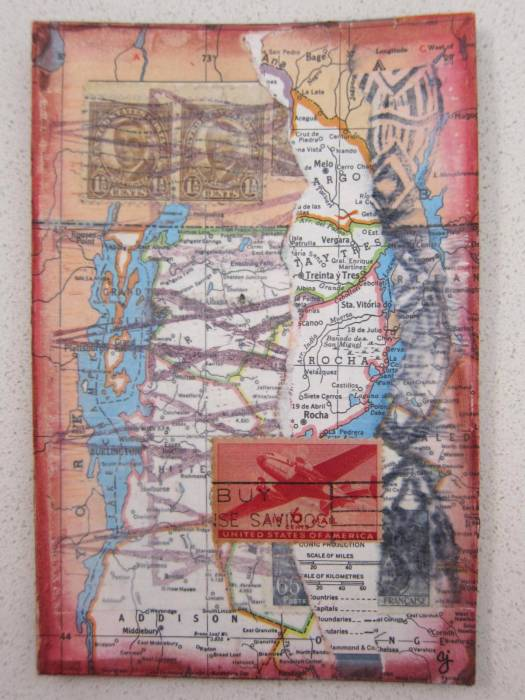 mail collage postcard 2