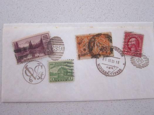 stamp napkin