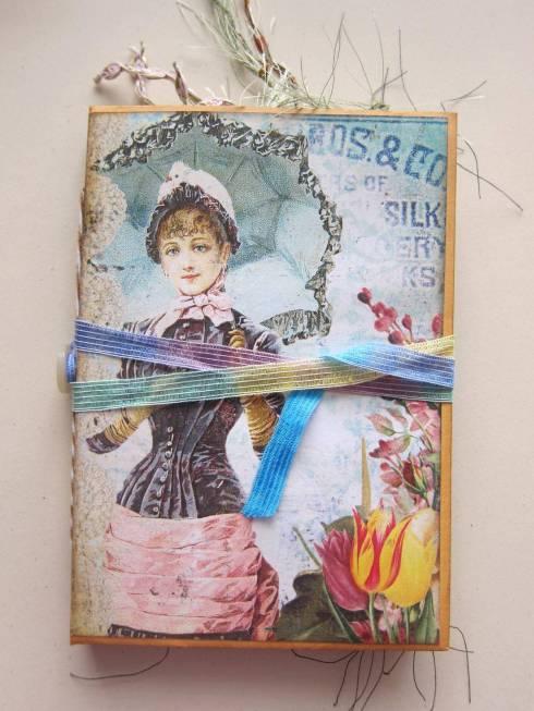 vintage junk journal cover