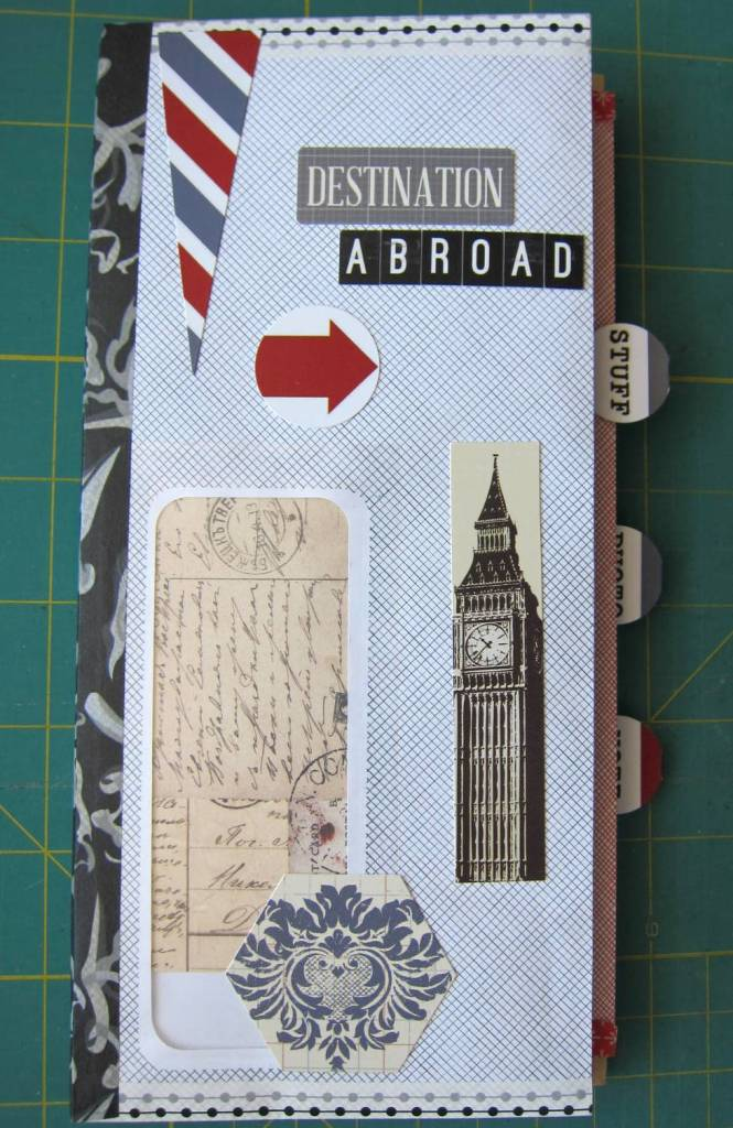 envelope journal - cover
