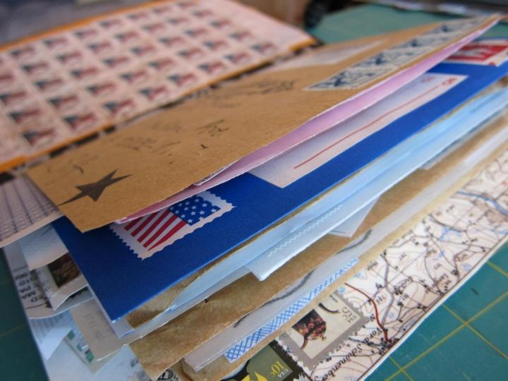 mail art junk journal 2