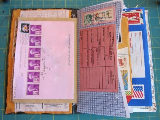 mail art junk journal 4