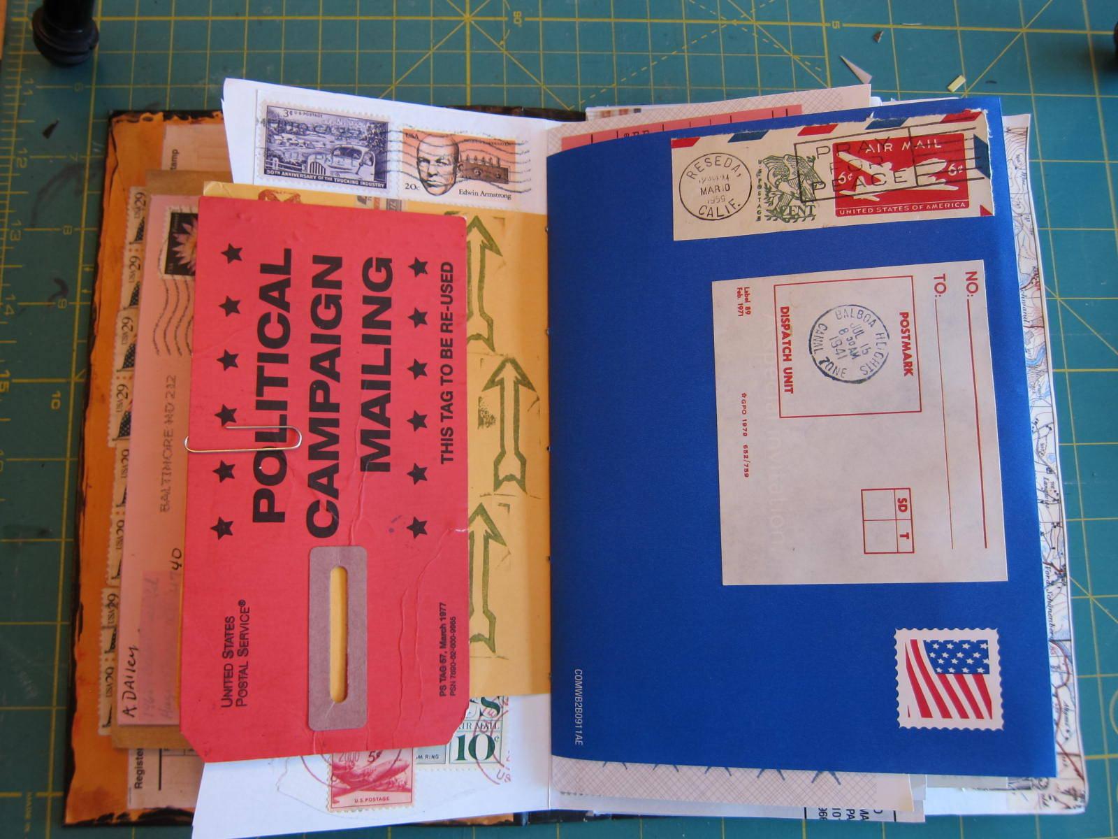mail art junk journal 5