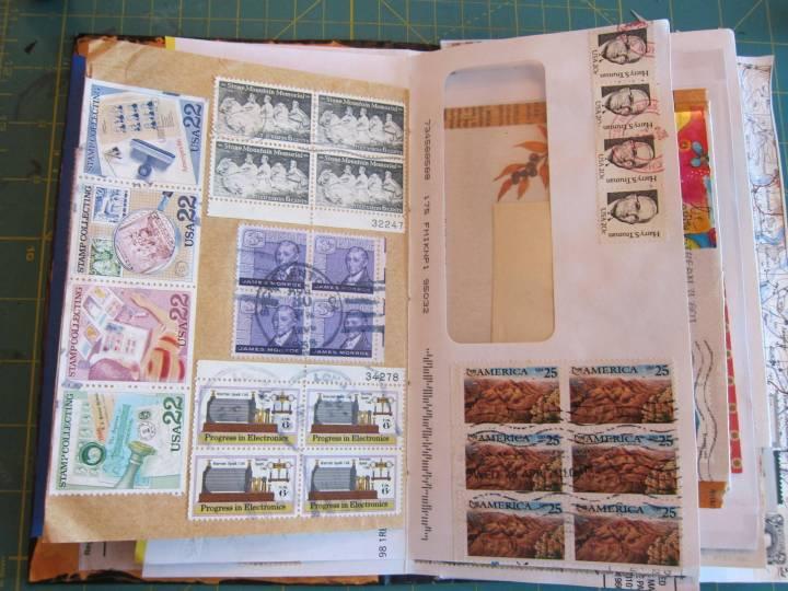 mail art junk journal 3