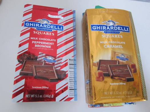 junk journals from chocolate packaging