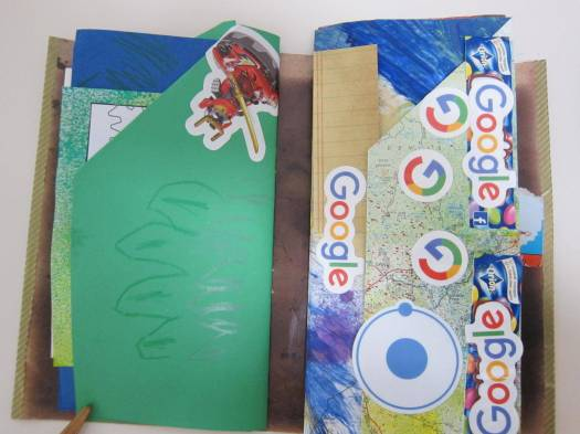 Ts journal with stickers