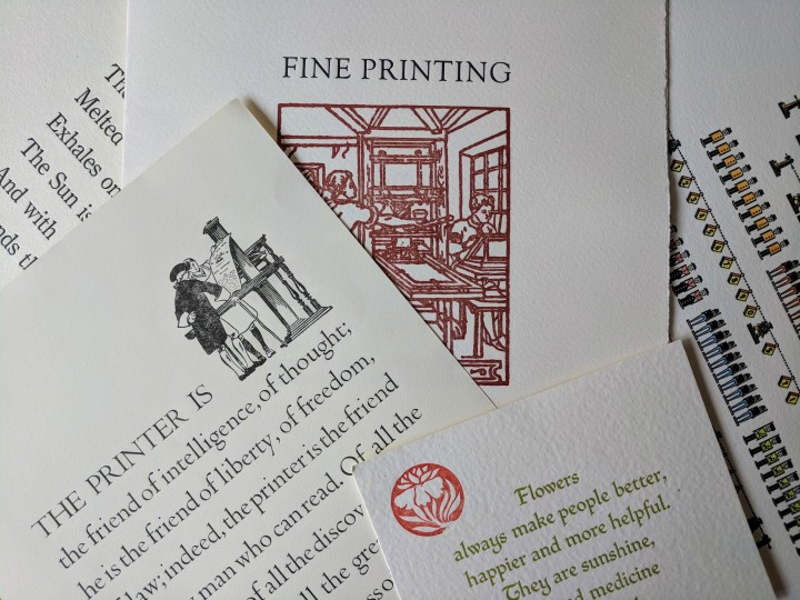 A Day at the printer'sfair