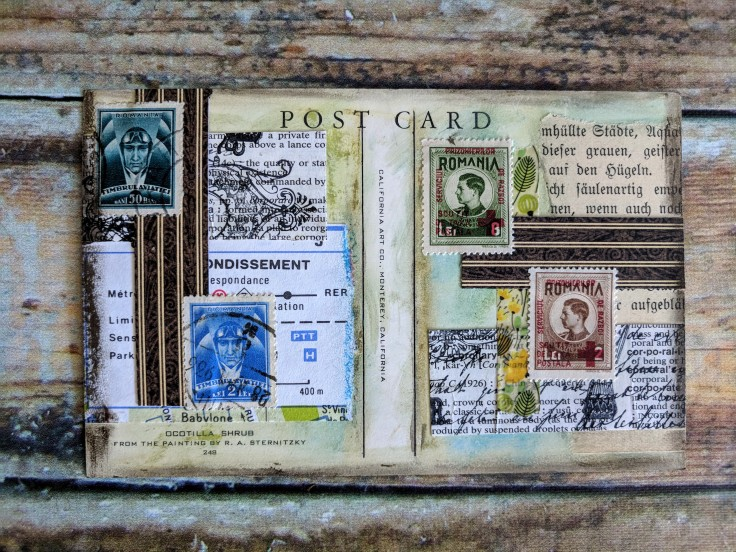 A small postcard for two ATCs